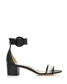 Jimmy Choo - Women's Jaimie 40 Block Heel Sandals