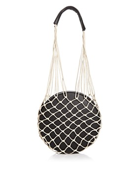 AQUA - Woven Round Shoulder Bag - 100% Exclusive