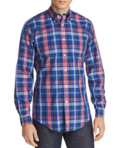 Brooks Brothers - Regent Plaid Slim Fit Button-Down Shirt