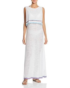Pitusa Marbella Maxi Dress Swim Cover-Up
