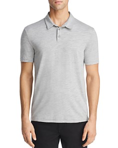 John Varvatos Star USA - Greg Heathered Knit Regular Fit Polo