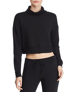 Beyond Yoga - All Time Fleece Cropped Sweatshirt