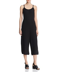Eileen Fisher - Cropped Wide-Leg Camisole Jumpsuit