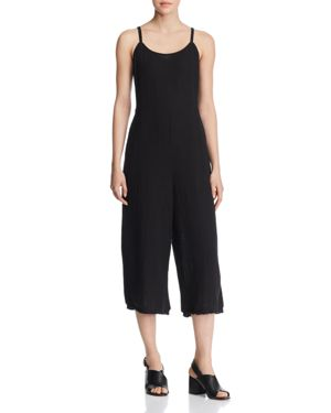 Eileen Fisher Cropped Wide-Leg Camisole Jumpsuit