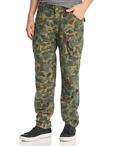 G-STAR RAW - Rovic Airforce Camouflage-Print Relaxed Fit Cargo Pants