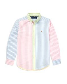 Ralph Lauren -  Boys' Striped Fun Shirt - Big Kid