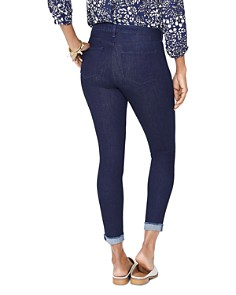 NYDJ - Ami Skinny Cuffed Ankle Jeans in Rinse