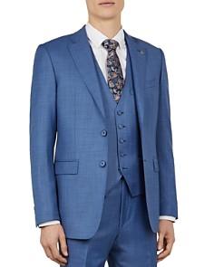 Ted Baker - Kernalj Debonair Sharkskin Slim Fit Suit Jacket