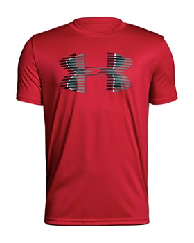 Under Armour - Boys' Tech Big Logo Tee - Big Kid