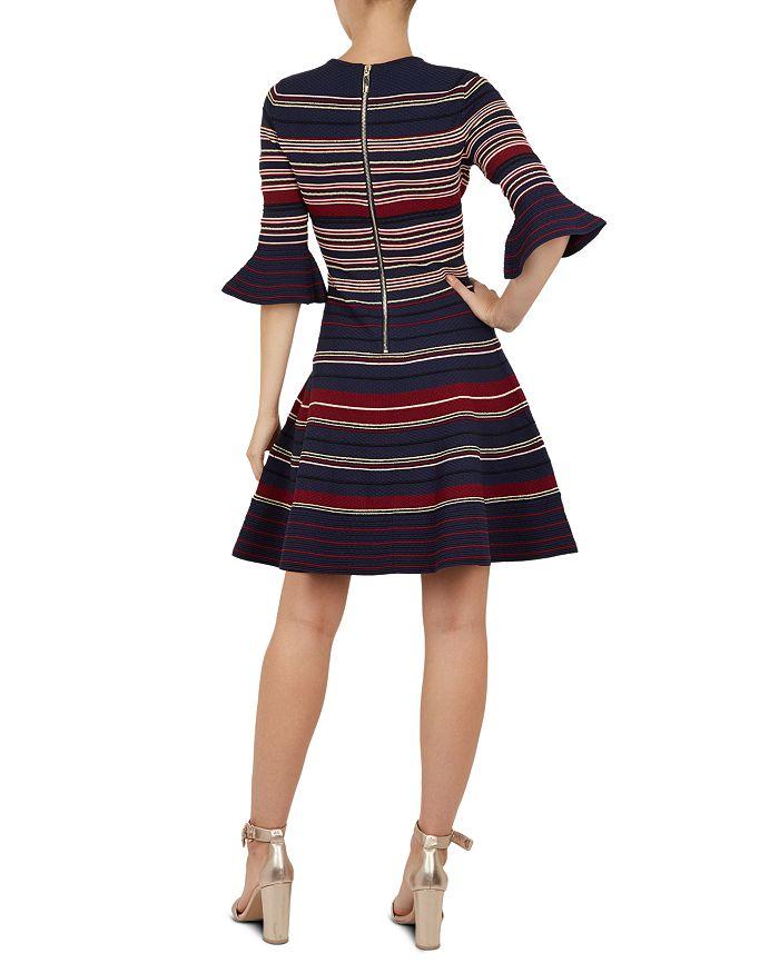 d95e2e30f0b41a Ted Baker - Tayiny Striped Skater Dress