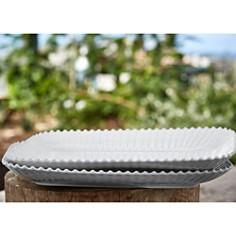 Costa Nova - White Pearl Rectangular Platter