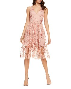 Dress the Population - Ally Lace Dress