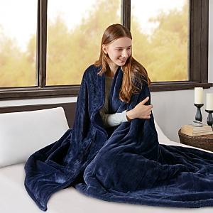 Beautyrest Microlight-to-Berber Reversible Heated Blanket, Full