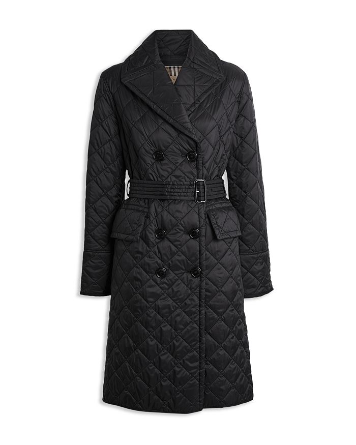 Quilted Bloomingdale's Breasted Double Trench Burberry Coat gqpS1n