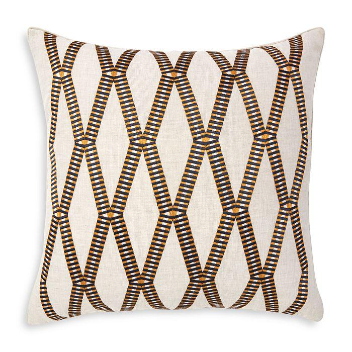 "Yves Delorme - Mahjong Decorative Pillow, 18"" x 18"""