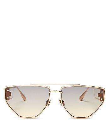 Dior - Women's Dior Clan2 Brow Bar Geometric Sunglasses, 61mm