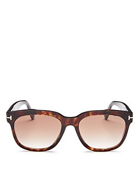 Tom Ford - Women's Rhett Mirrored Square Sunglasses, 55mm