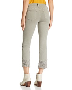 J Brand - Selena Crop Bootcut Jeans in Faded Gibson
