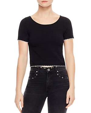 Sandro Meline Cropped Sweater