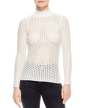 Sandro - Jules Open-Knit Sweater