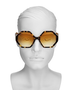 Chloé - Women's Octagonal Sunglasses, 55mm