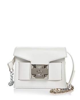 Salar - Gaia Chain Leather Shoulder Bag