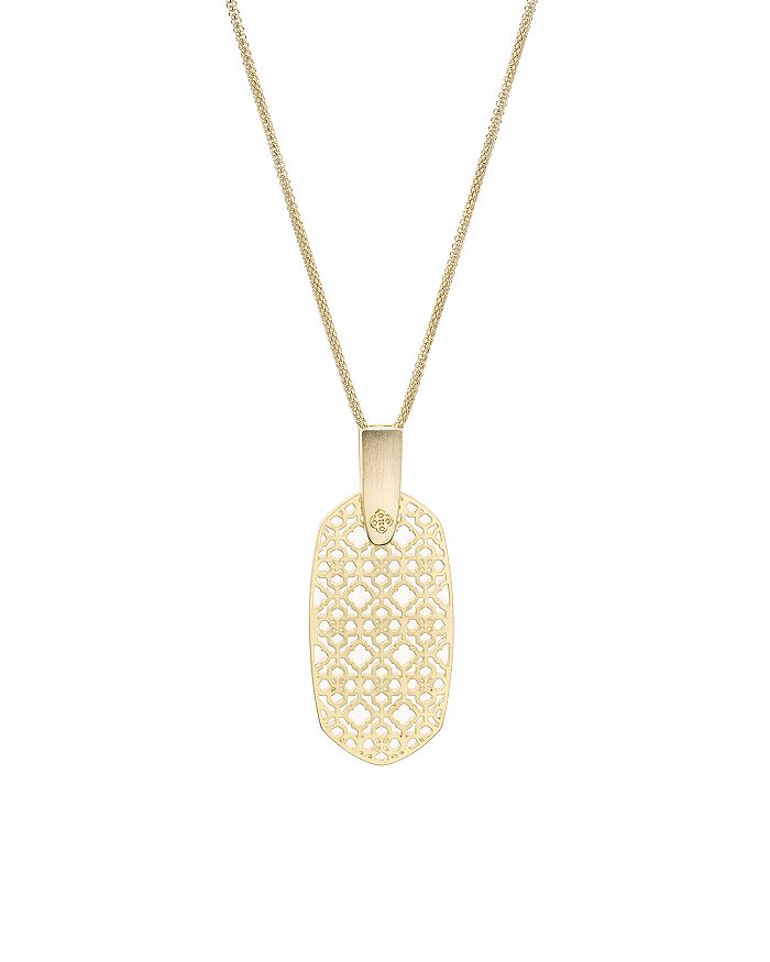 "Kendra Scott - Inez Filigree Pendant Necklace, 30"""
