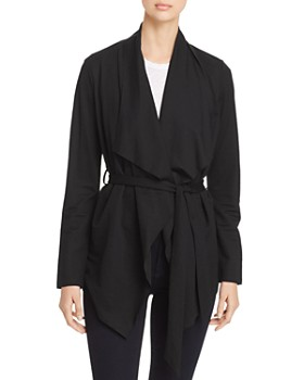 Bagatelle - Draped Tie-Front Cardigan