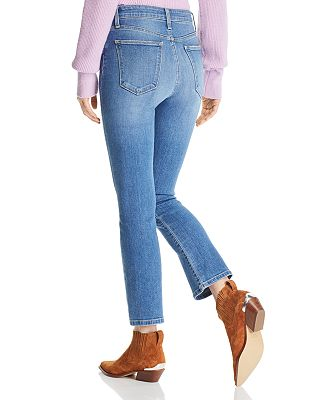 Sale alerts for  Callie Cropped Boot Jeans in Meryll - Covvet