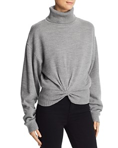 alexanderwang.t - Double-Layered Turtleneck Sweater