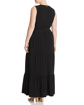 57c7acaded ... MICHAEL Michael Kors Plus - Chain Lace-Up Maxi Dress