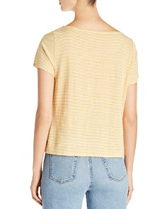Eileen Fisher Petites - Striped Organic-Cotton Tee