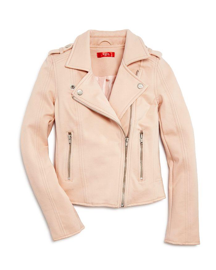 AQUA - Girls' Ponte Moto Jacket, Big Kid - 100% Exclusive