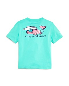 Vineyard Vines - Boys' Vacation Whale Tee - Little Kid, Big Kid