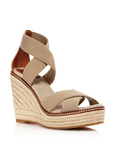 Tory Burch - Women's Frieda Platform Wedge Espadrille Sandals