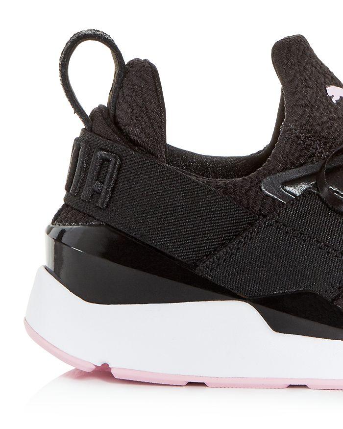 319aad87f80 PUMA - Women s Muse TZ Knit Low-Top Sneakers