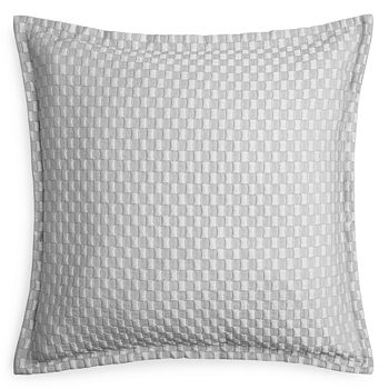 Hudson Park Collection - Luxe Block Matelassé Quilted Euro Sham - 100% Exclusive