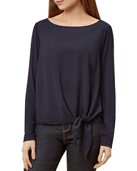 HOBBS LONDON - Maisie Tie-Front Top