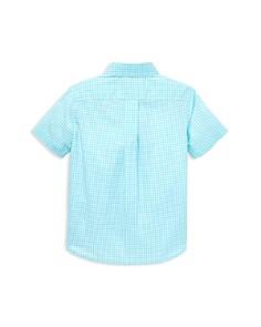Ralph Lauren - Boys' Gingham Poplin Camp Shirt - Little Kid