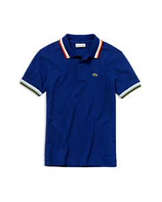 Lacoste - Boys' Ribbed Polo Shirt - Little Kid, Big Kid