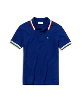 3b609a7e29 Lacoste - Boys' Ribbed Polo Shirt - Little Kid, Big Kid