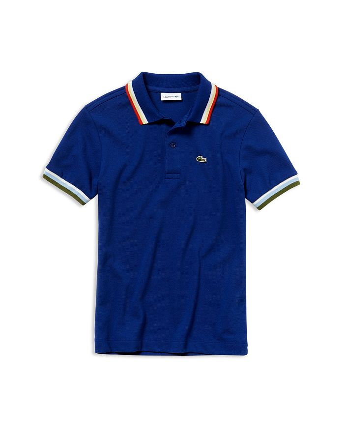 Lacoste - Boys' Ribbed Polo Shirt - Little Kid, Big Kid