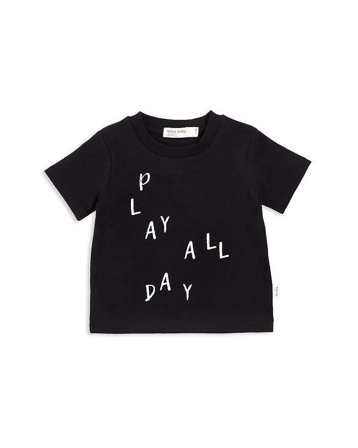 Miles Child - Unisex Basic Play All Day Tee - Little Kid