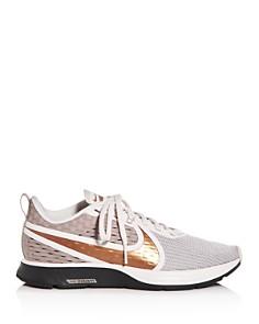 Nike - Women's Zoom Strike Knit Low-Top Sneakers