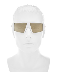 Versace - Men's Mirrored Shield Sunglasses, 60mm