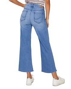Sanctuary - Non Conformist Cropped Wide-Leg Jeans in Solano Blue