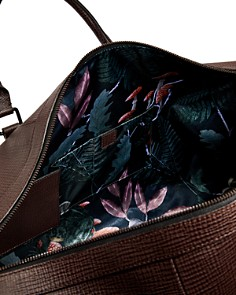 Ted Baker - Welsee Palmelato Leather Holdall