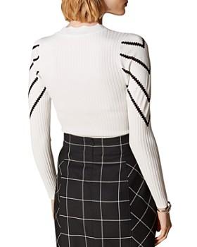 07f65a59ee33e ... KAREN MILLEN - Scalloped Chevron Detail Sweater