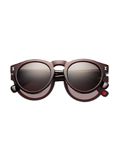 Illesteva - Women's Leonard Round Sunglasses, 48mm