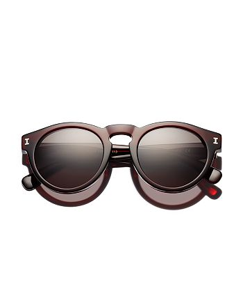 Illesteva - Women's Leonard Round Sunglasses, 48mm